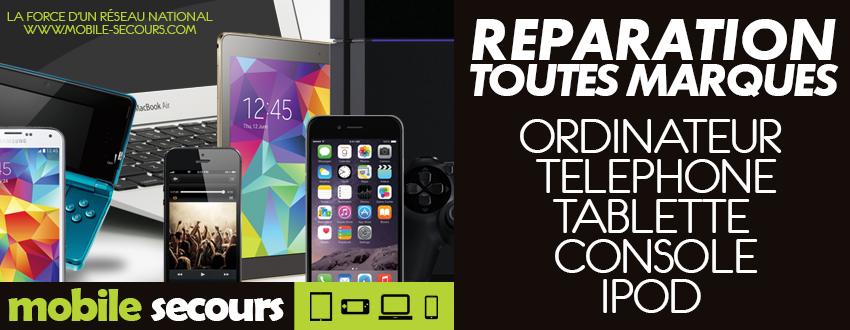 Mobile Secours BOULOGNE-SUR-GESSE Ordi'Nelly réparation téléphone, tablette, console, ordinateur, iPod