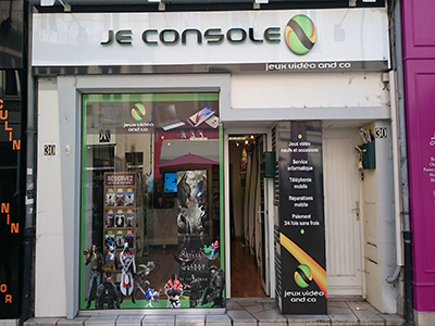 JE CONSOLE - JEUX VIDEO AND CO