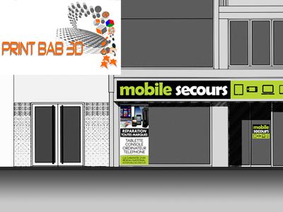 Print bab 3d bayonne r paration smartphone t l phone for Bureautique bayonne